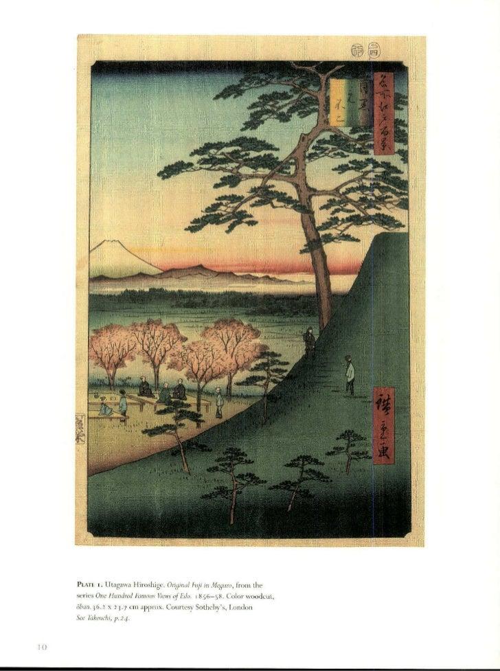 PLXfE i. LItagawa Hiroshige. Ori,inalFuji in Aleguro, from theseries One Hundred FRnaous Viens   oJEdo    856-58. Color wo...