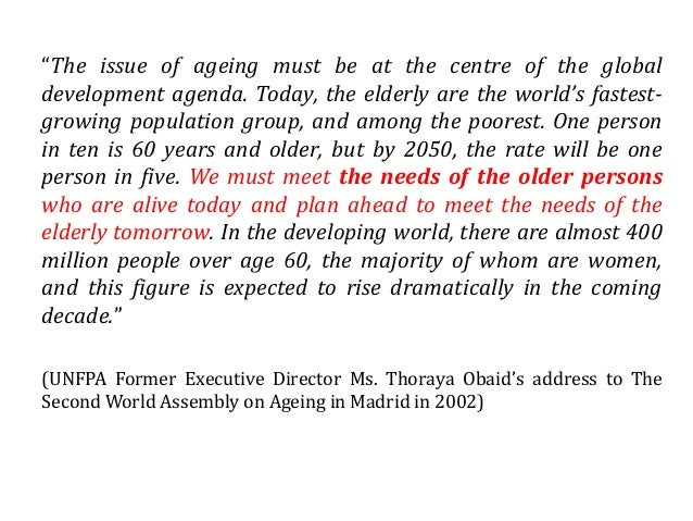 needs of the older person Unique needs in diabetes self-management education/training and support  guidelines for improving the care of the older person with diabetes mellitus.