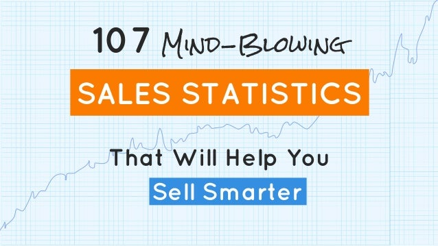 That Will Help You Sell Smarter 107 Mind-Blowing SALES STATISTICS