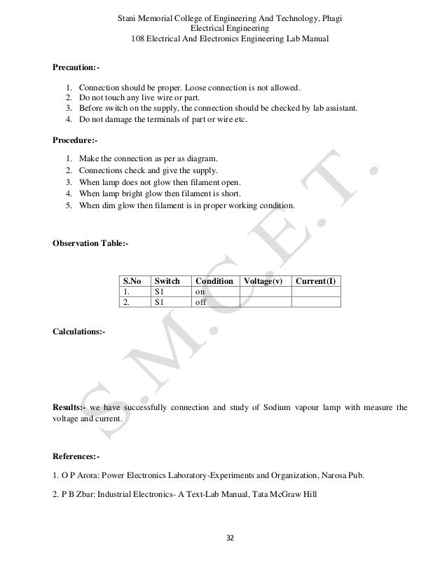 introduction to circuits lab report