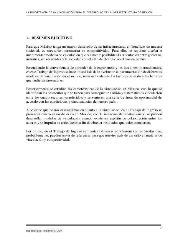 La importancia de la vinculación para el desarrollo de la infraestructura de México Slide 3