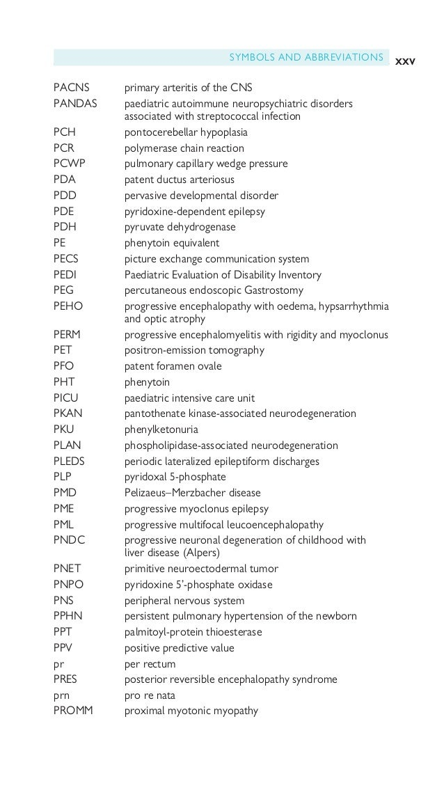 xxvi SYMBOLS AND ABBREVIATIONS PRP penicillin-resistant pneumococci PTA post-traumatic amnesia PTH parathyroid hormone PTS...