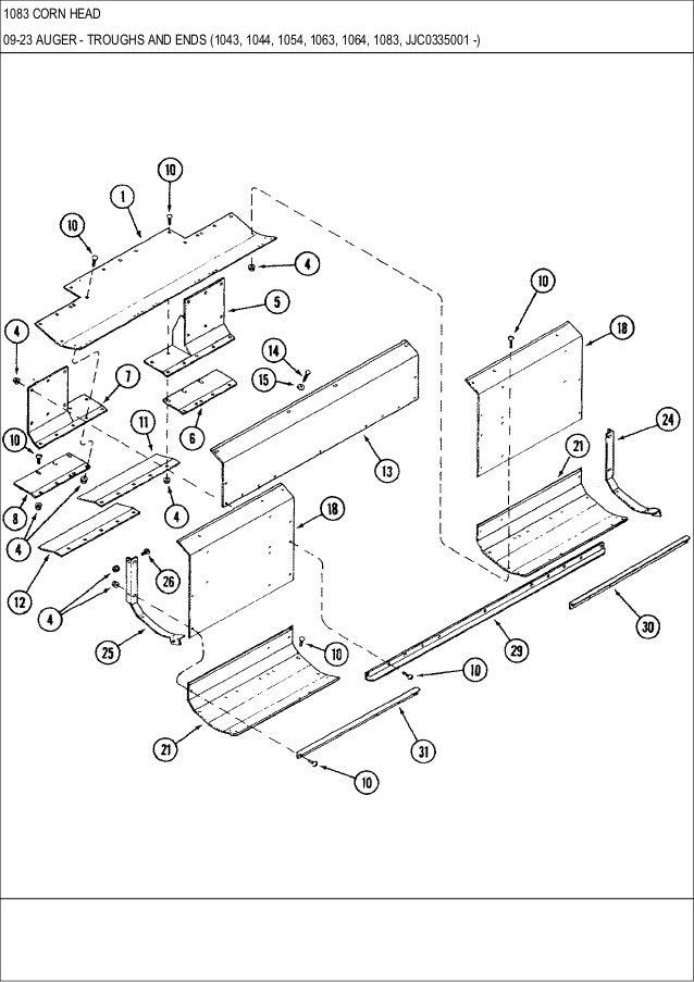 199647C1 Main Drive Sprocket for Case IH 900 1043 1044 1064 1083 1084 Cornhead