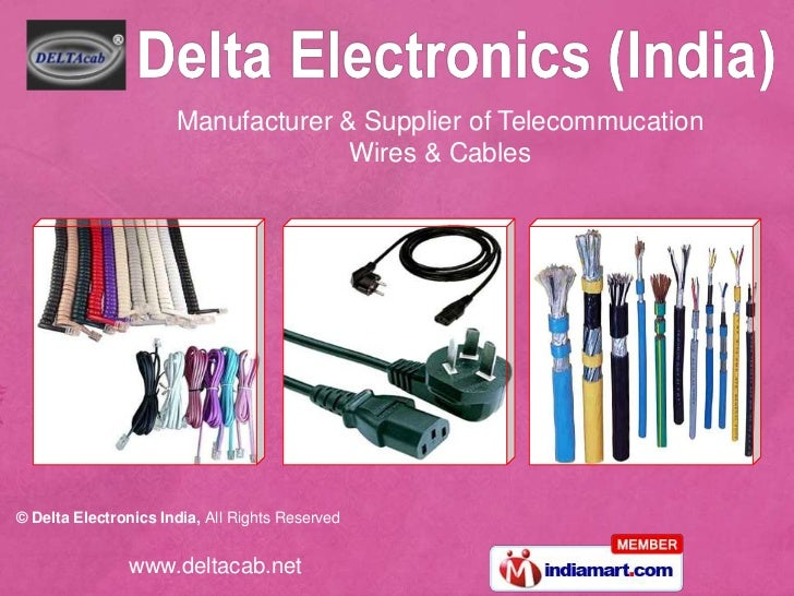 Manufacturer & Supplier of Telecommucation Wires & Cables <br />