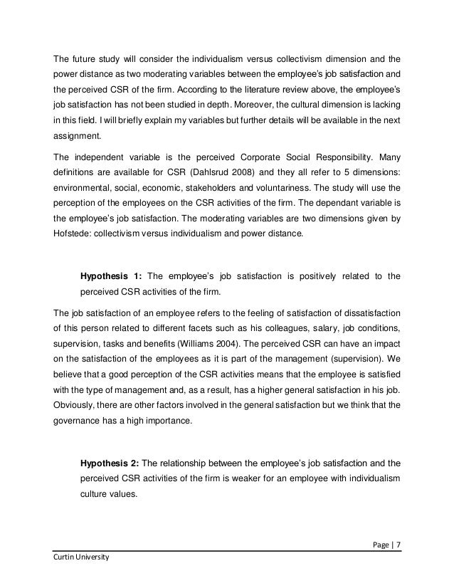 term papers on csr In this research paper the csr practices of multinational the modern term is considered to the development concept of corporate social responsibility (csr.
