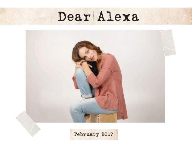 Dear Alexa February 2017