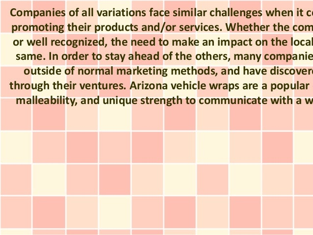 Companies of all variations face similar challenges when it co promoting their products and/or services. Whether the com o...