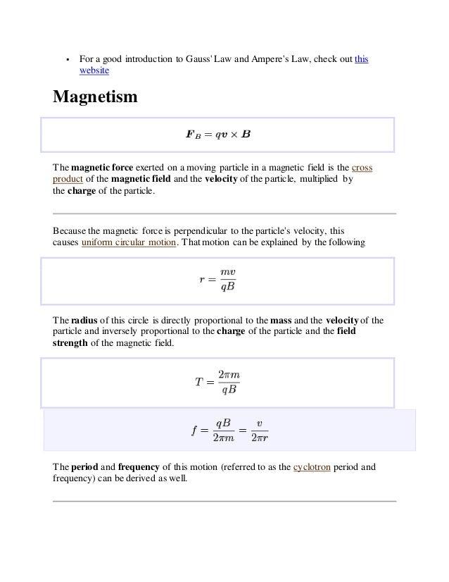 108938458 physics study guide rh slideshare net Tesla Units Physics Magnetic Field Physics Sounds