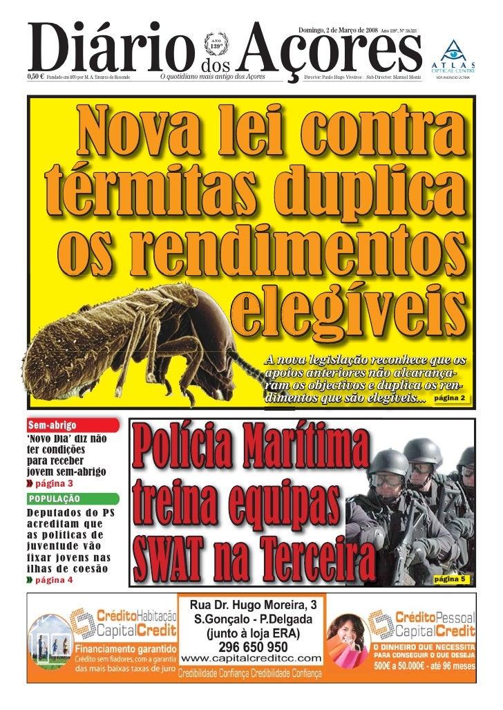 Diário Açores                                                                                                Domingo, 2 de...
