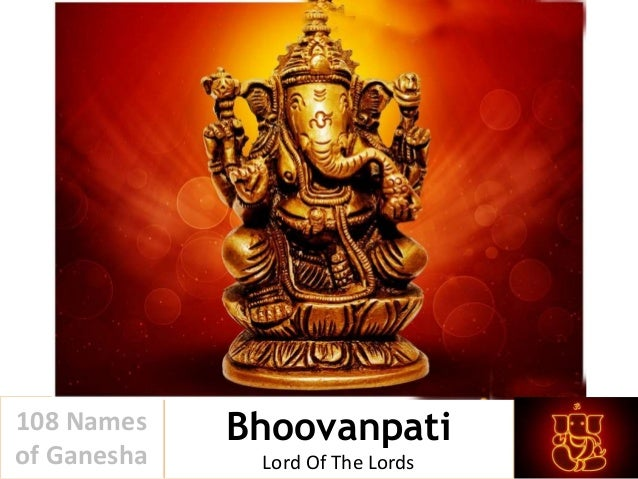 108 names of ganesha pdf