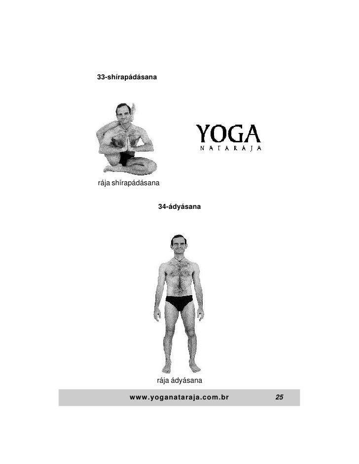 33-shírapádásanarája shírapádásana                   34-ádyásana                   rája ádyásana         www.yoganataraja....