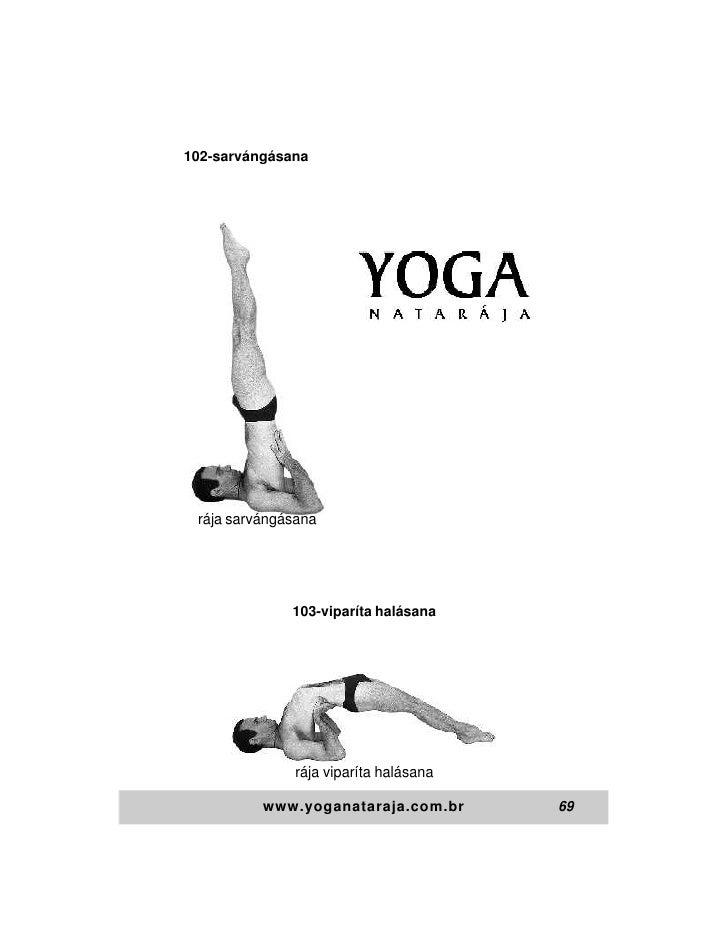102-sarvángásana rája sarvángásana              103-viparíta halásana              rája viparíta halásana          www.yog...