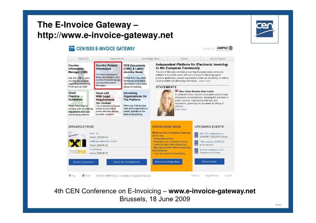 EInvoice Gateway Helmut Aschbacher Stefan EngelFlechsig - Invoice gateway