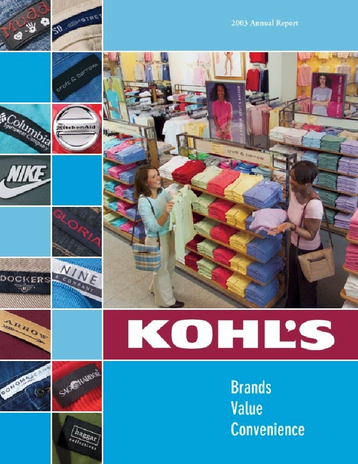 Profile Kohl's mission is to be the leading family-focused, value-oriented, specialty department store offering national b...