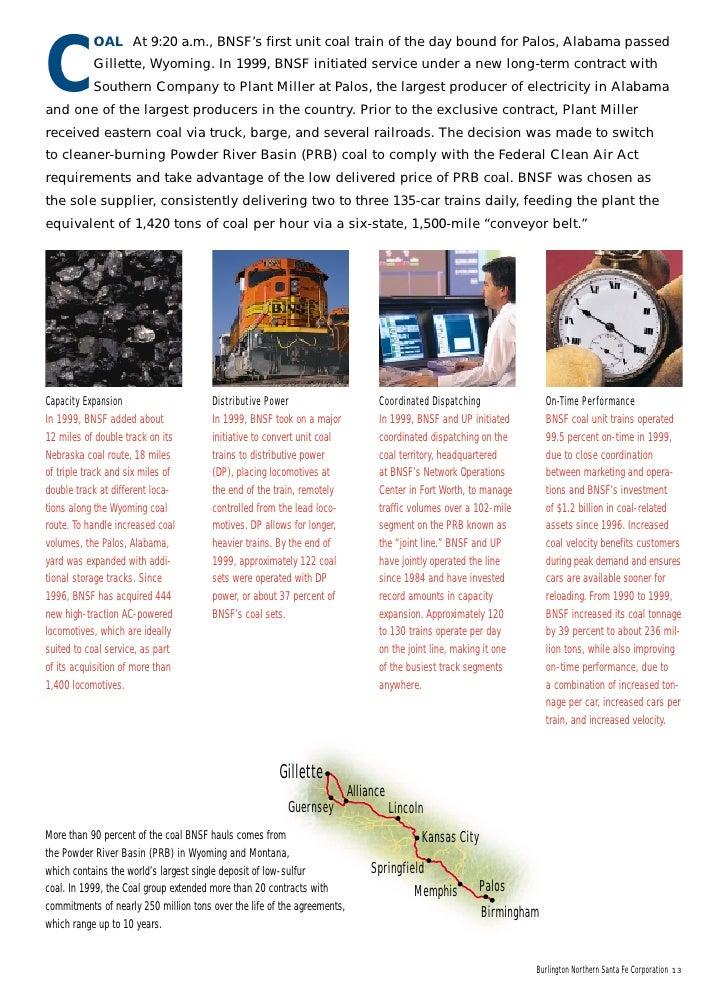 Burlington Northern: The ARES Decision (A)