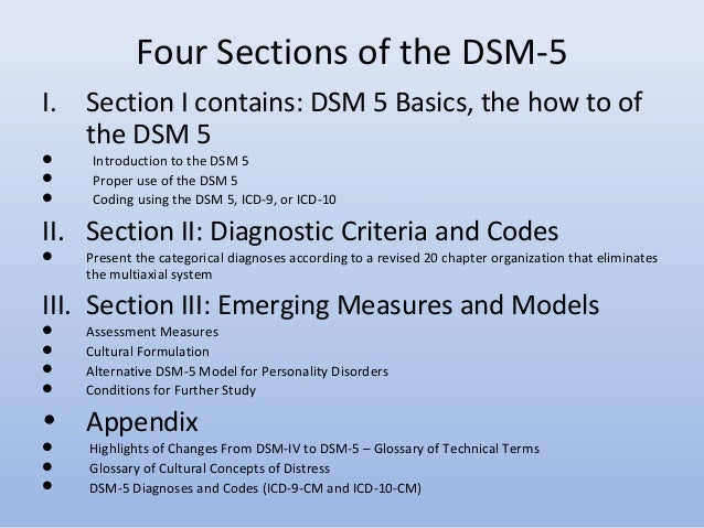 dsm iv evaluation appendix h Task force on dsm-iv] -- this text revision incorporates information culled from  a comprehensive literature review of research about mental disorders   multiaxial assessment --  appendix h dsm-iv classification (with icd-10 codes ) -.