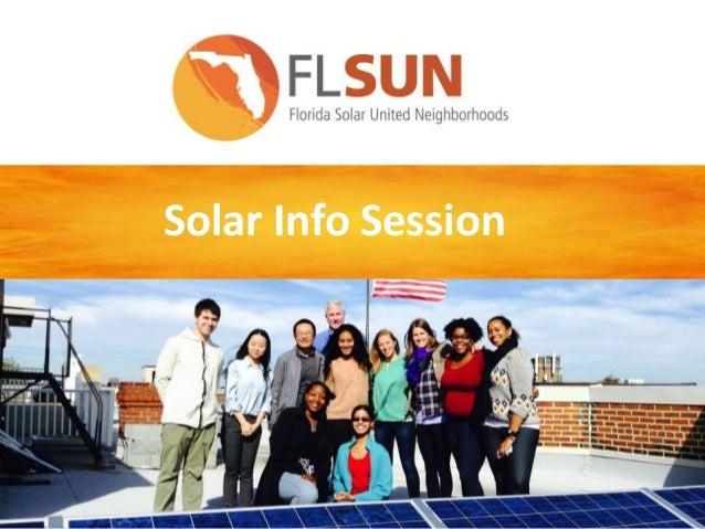 Solar Info Session