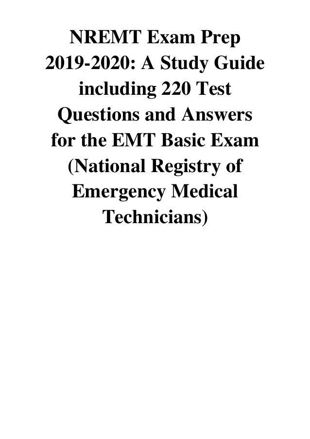 (2019) NREMT Exam Prep 2019-2020 (PDF) A Study Guide