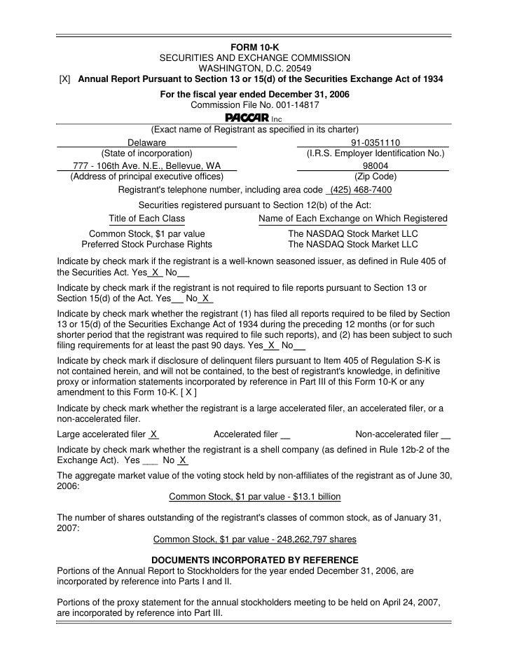 FORM 10-K                      SECURITIES AND EXCHANGE COMMISSION                                WASHINGTON, D.C. 20549 [X...