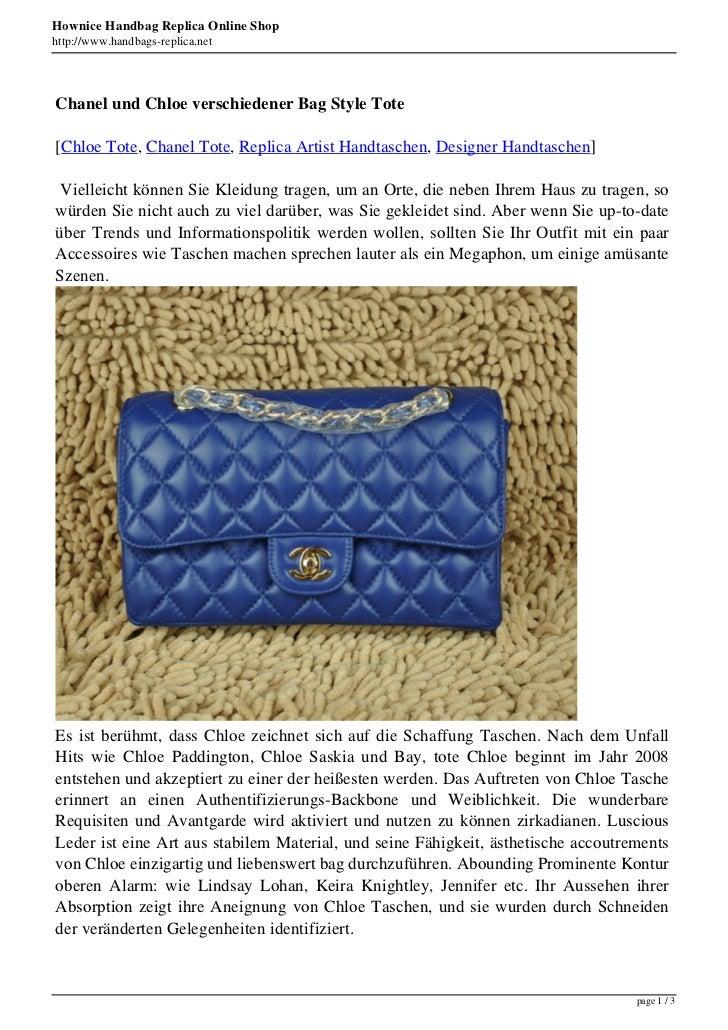 Hownice Handbag Replica Online Shophttp://www.handbags-replica.netChanel und Chloe verschiedener Bag Style Tote[Chloe Tote...