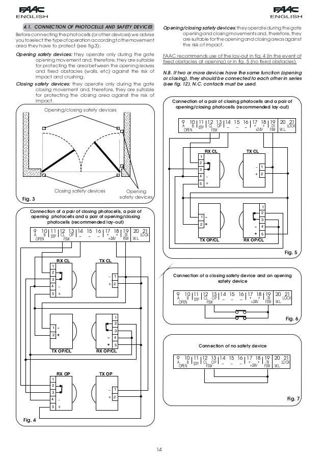 Faac Photocell Wiring Diagram : 29 Wiring Diagram Images