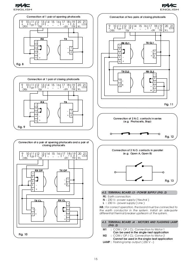 109 manual rad3db3c 5 638?cb=1392784187 faac photocell wiring diagram faac wiring diagrams collection  at panicattacktreatment.co