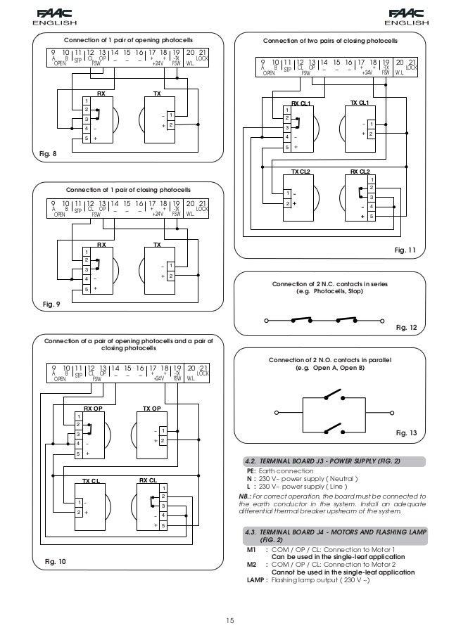 109 manual rad3db3c 5 638?cb=1392784187 faac photocell wiring diagram faac wiring diagrams collection  at n-0.co
