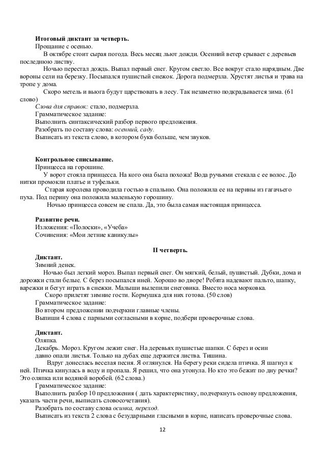 russki jasik  11 12 Итоговый диктант
