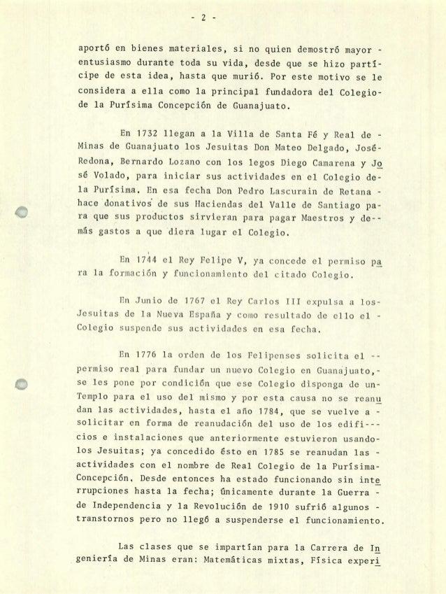 ESTUDIO DE INGENIERIA DE MINAS Y CARRERAS AFINES EN LA UNIVERSIDAD DE…