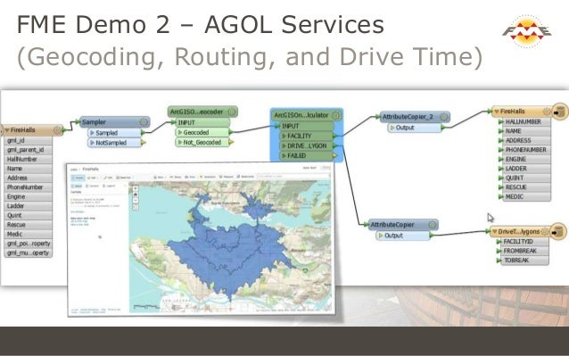 Mapping in the Cloud with ArcGIS Online & FME