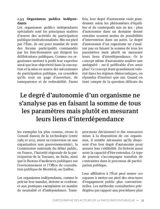 26 PROFESSIONNALISATION DE LA PARTICIPATION PUBLIQUE privilégiée dans des « tours d'ivoire ». Ils se sont ainsi fermement ...