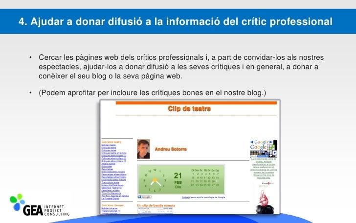 Presència en Blogs                  Els Directoris                Publicitat en General          Mercats Digitals         ...