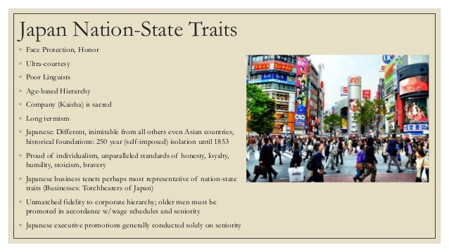 is japan a nation state