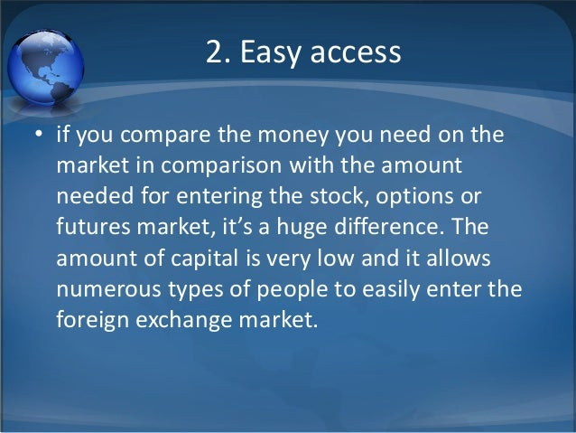 Advantages of fx options
