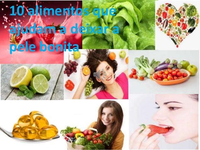 10 alimentos que ajudam a deixar a pele bonita