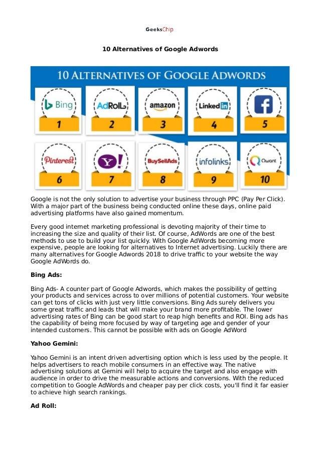 Cheap alternatives to google adwords автоматизация настройки яндекс директ