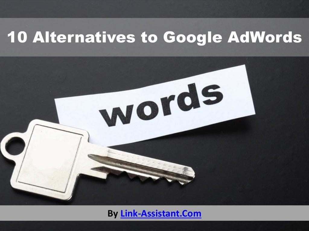 10 alternatives to Google AdWords