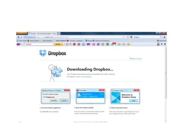 how to create a shared dropbox account