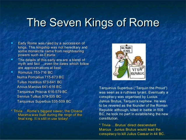 Ancient Rome: The Essential Background