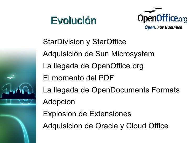 10 años de OpenOffice.org Slide 2