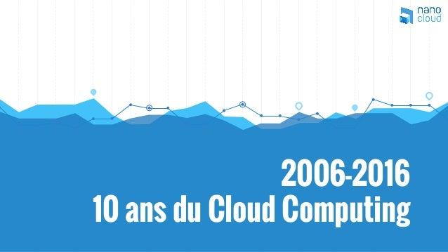 2006-2016 10 ans du Cloud Computing