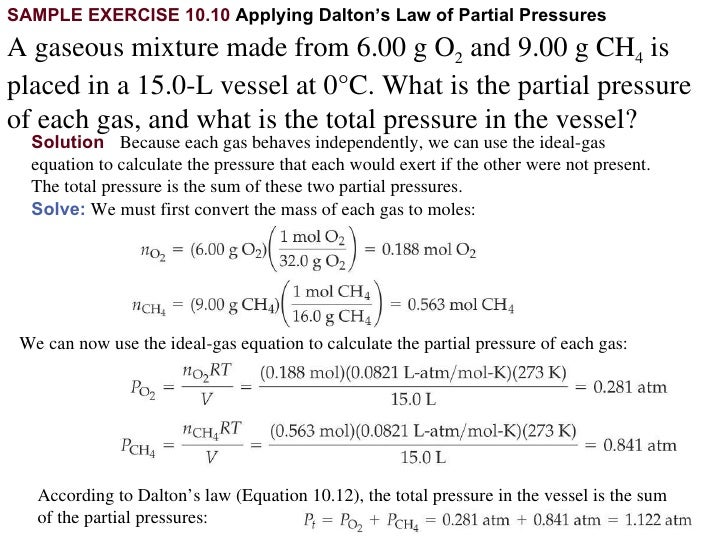 Chapter 10 Lecture- Gases
