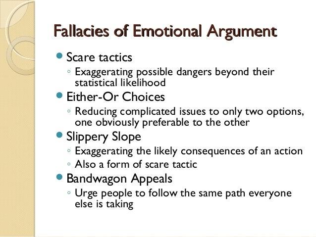 Emotional appeal in argumentative essay