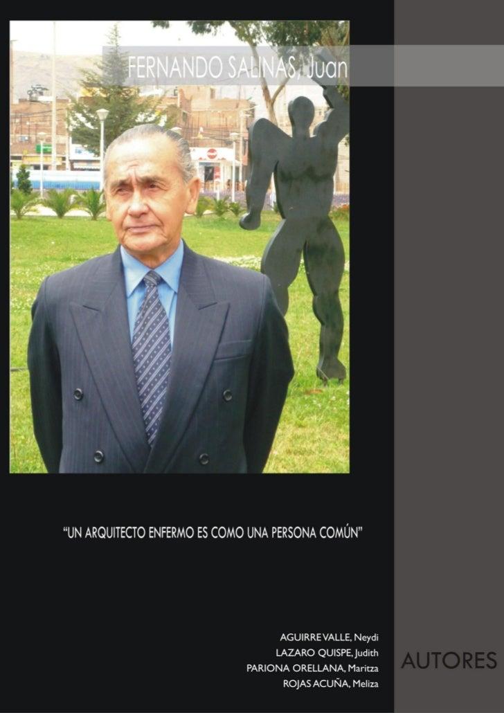 10 arquitectos de huancayo for Fernando porras arquitecto