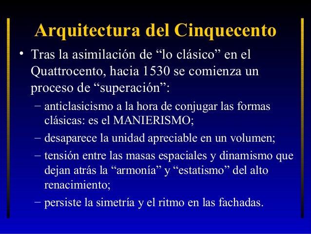 La arquitectura renacentista 2 el cinquecento for Arquitectura quattrocento y cinquecento