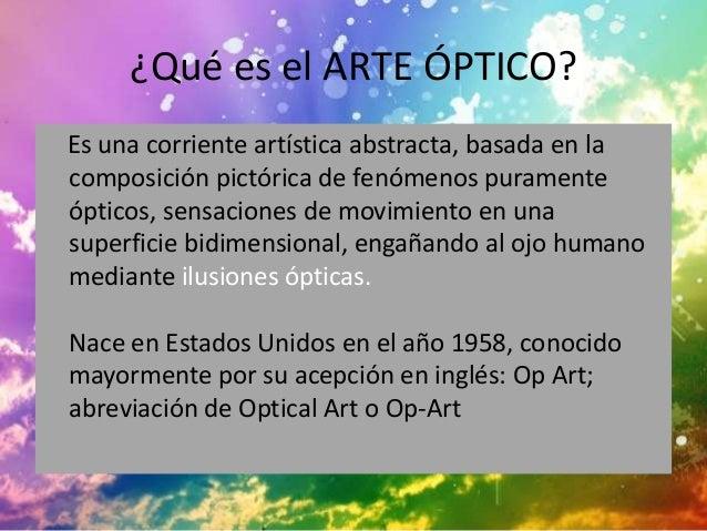 Arte optico for Q es arte mobiliar