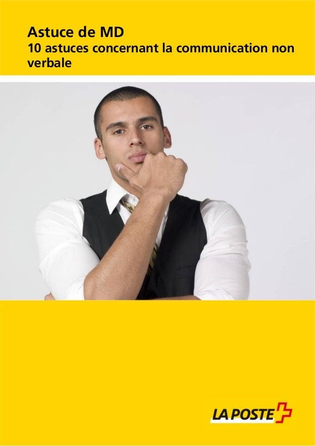 Astuce de MD 10 astuces concernant la communication non verbale