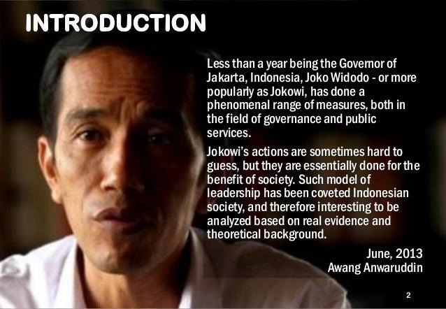 10 ATTRIBUTES OF GOV JOKOWI LEADERSHIP Slide 2
