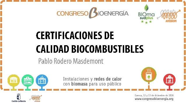 2 La Asociación Española de Valorización Energética de la Biomasa (AVEBIOM) se constituyó en el año 2004 con el fin de pro...
