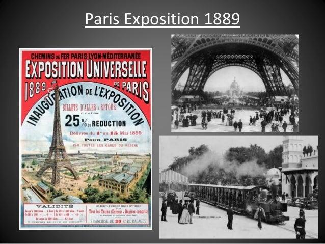 Paris Exposition 1889